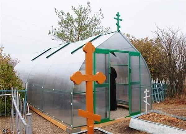 Чудотворная могила блаженной Евдокии Маханьковой