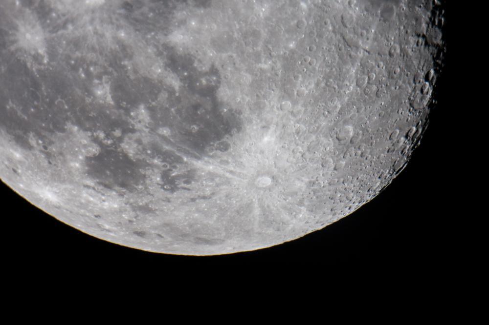 помню, чтобы фото луны через телескоп данном разделе наши