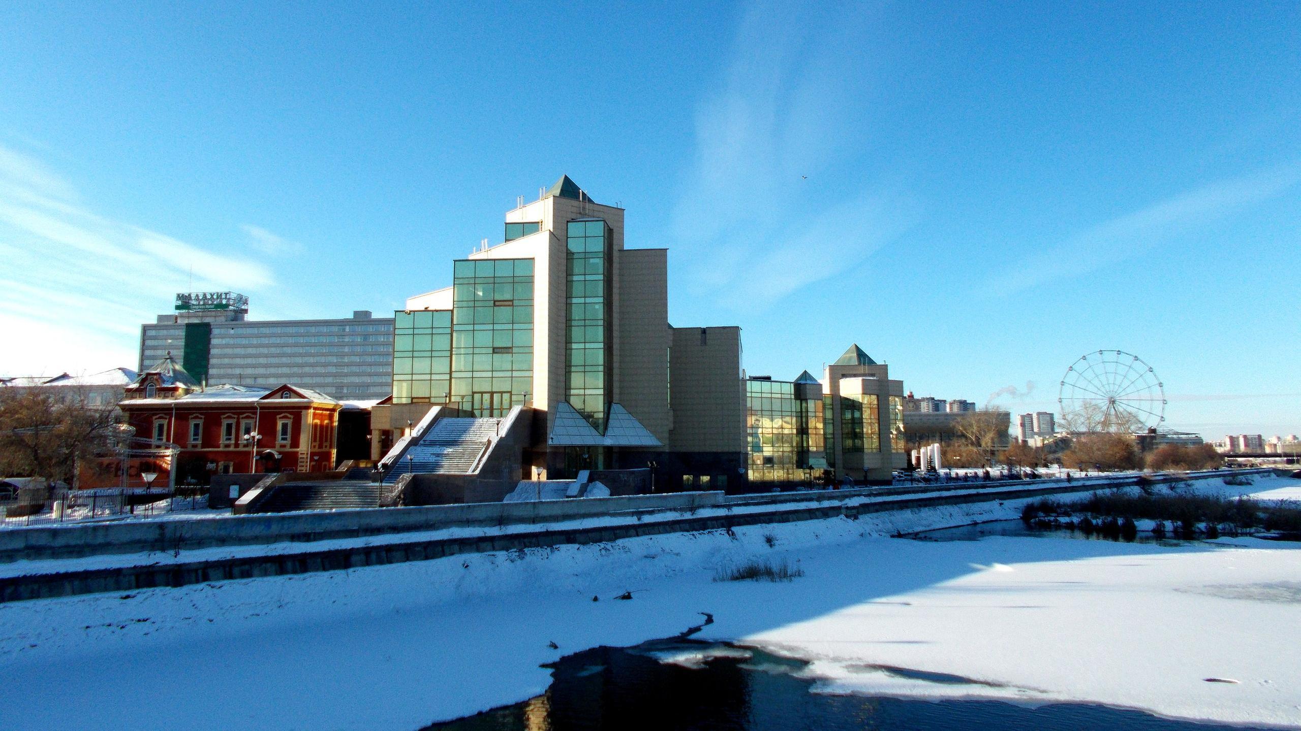 Картинки города челябинска весной