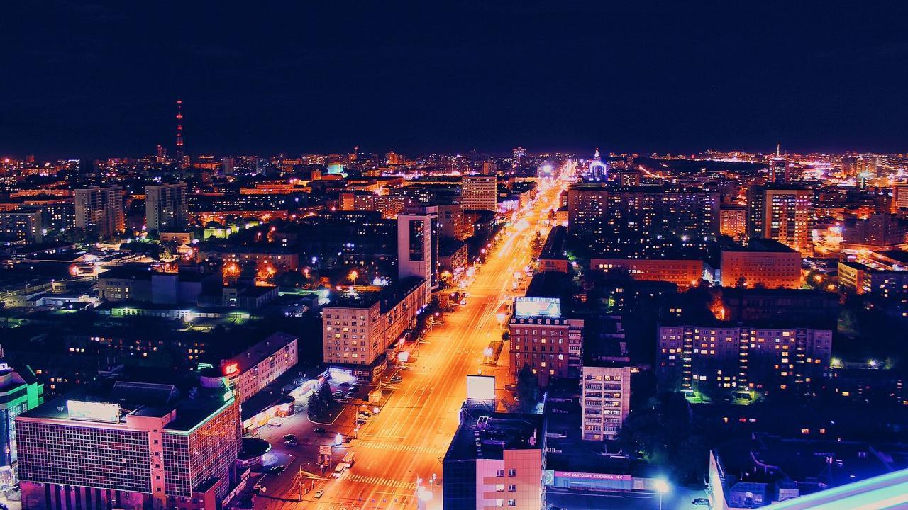 картинки ночной челябинск